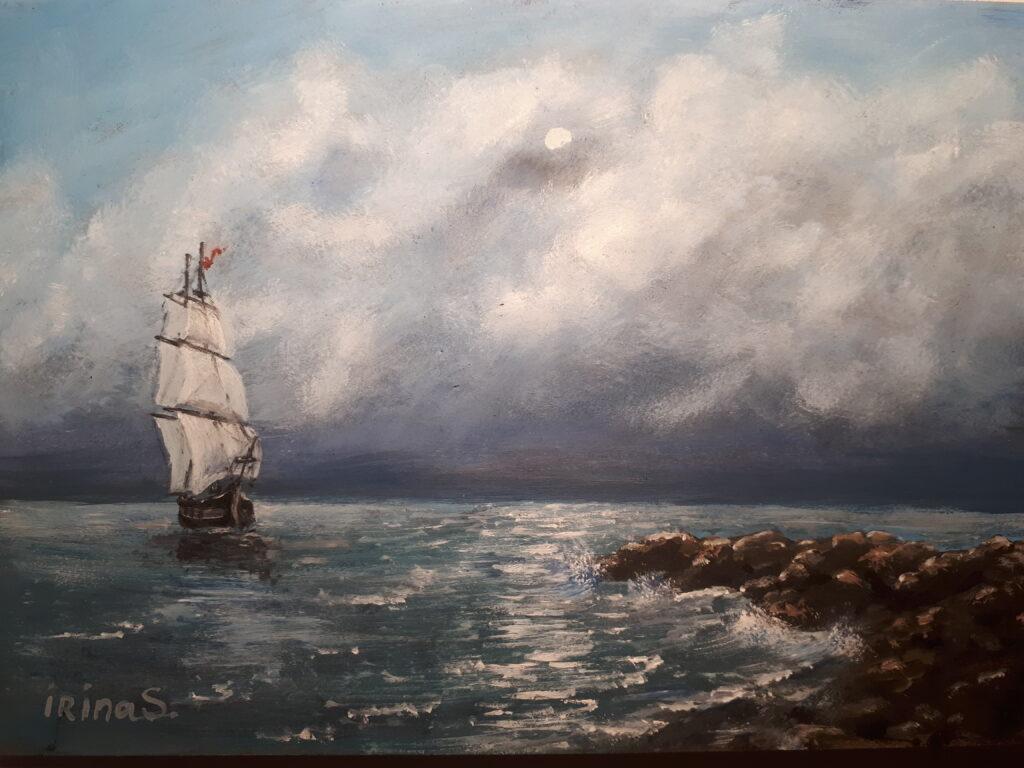 Морской пейзаж1
