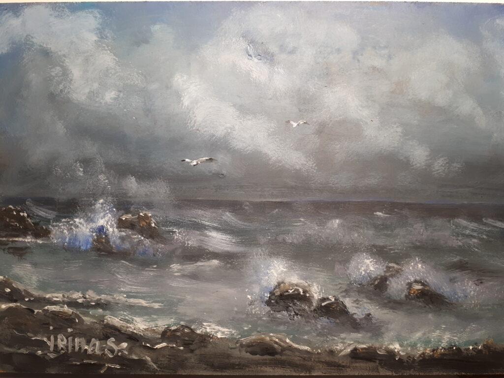 Морской пейзаж3