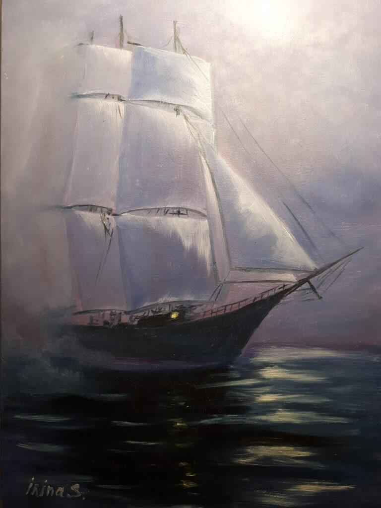 Морской пейзаж5